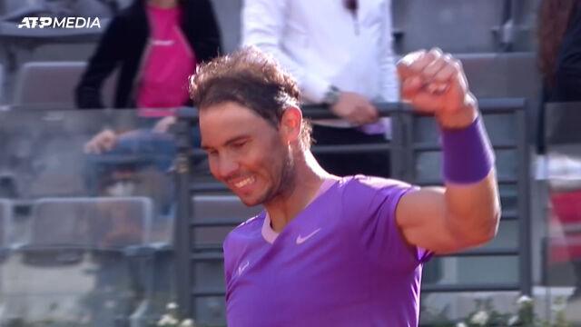 Nadal pokonał Opelkę w półfinale turnieju ATP w Rzymie