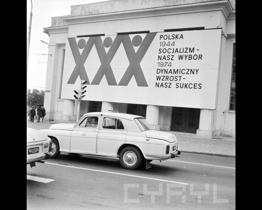 Miasto udekorowane na XXX-lecie PRL