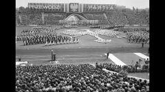 We wrześniu na stadionie im. 22 Lipca w Poznaniu odbyły się Centralne Dożynki