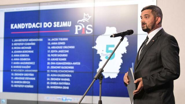 Kandydaci PiS w wyborach do Sejmu - lista z podziałem na okręgi wyborcze