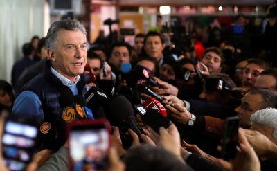 Prezydent Argentyny Mauricio Macri obiecał, że zwycięży w październikowych wyborach prezydenckich