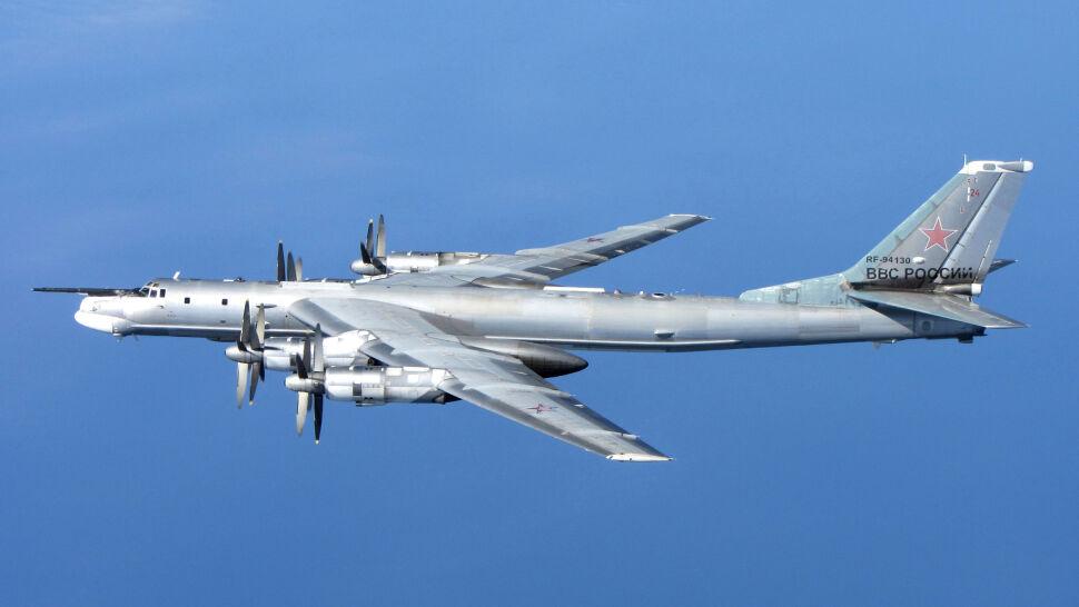 Lot rosyjskich bombowców strategicznych. Poderwano myśliwce F-16