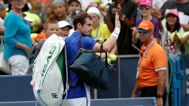 Murray względnie zadowolony z pierwszego meczu w singlu od ośmiu miesięcy