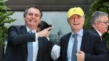 Jair Bolsonaro podczas wizyty w Argentynie
