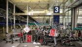 Na lotnisku w Hongkongu doszło do starć między policją a demonstrantami