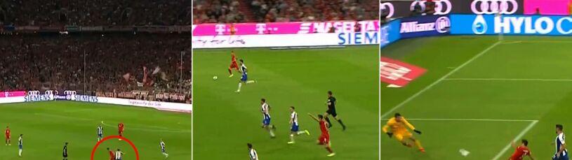 Lewandowski rozpoczął i zakończył bramkową akcję. Zobacz imponujące przyspieszenie Polaka