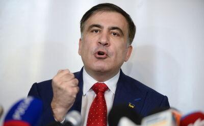 Saakaszwili: używano wobec mnie bardzo brutalnej siły fizycznej