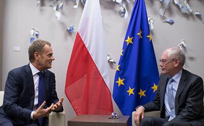 Tusk wdraża się w obowiązki. Dziś lunch z Barroso i Van Rompuyem