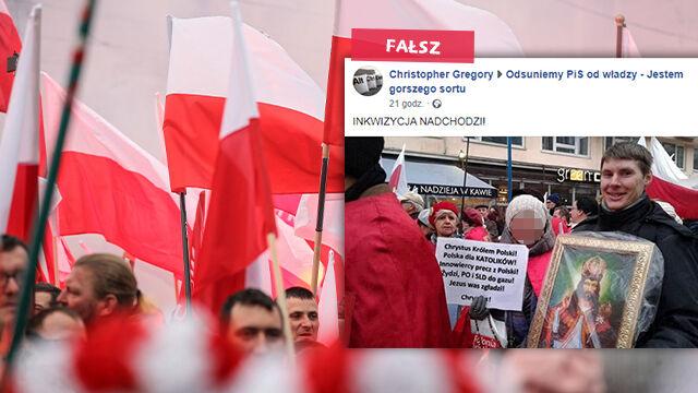 """Nie, hasło """"Żydzi, PO i SLD do gazu"""" nie pojawiło się na Marszu Niepodległości"""
