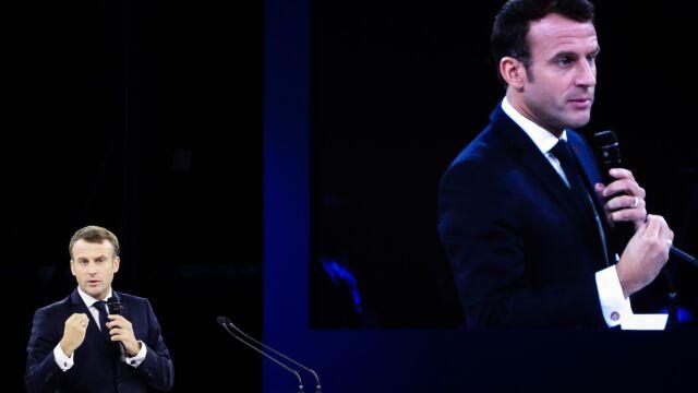 Macron odbył