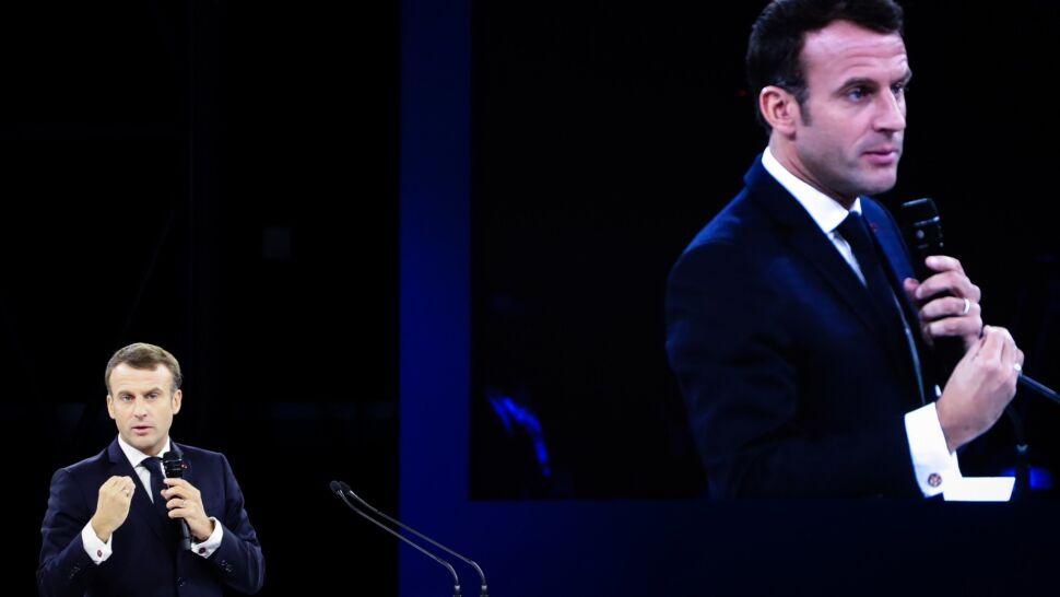 """Macron odbył """"doskonałą rozmowę""""  z Trumpem. Po wywiadzie na temat NATO"""