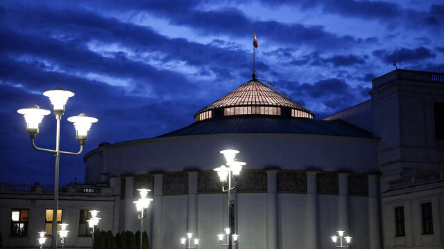 Polish Sejm will be controlled by the ruling party majority, the Senate - by the opposition