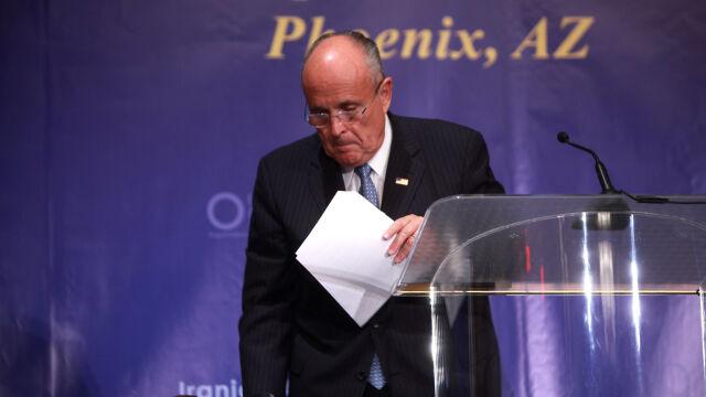 """""""WSJ"""": prokuratura bada zaangażowanie Giulianiego w projekt gazowy na Ukrainie"""