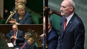 Macierewicz przemawia. Żywiołowe reakcje sali plenarnej