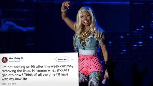 Nicki Minaj rezygnuje z Instagrama. Przez nową politykę dotyczącą lajków