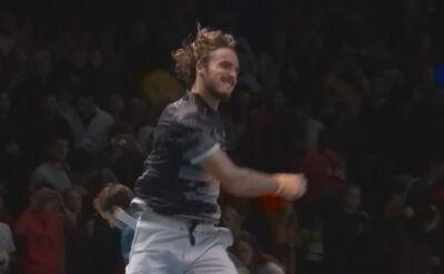 Tsitsipas pokonał Miedwiediewa w ATP Finals