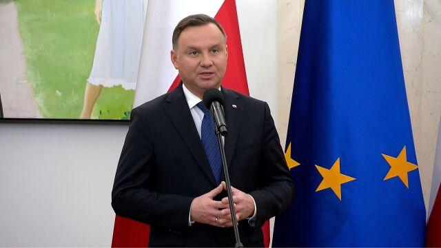 Prezydent do Morawieckiego: mam nadzieję na dalszą współpracę z pożytkiem dla naszych obywateli