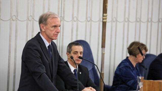 Kandydaturę Tomasza Grodzkiego przedstawia senator Bogdan Klich