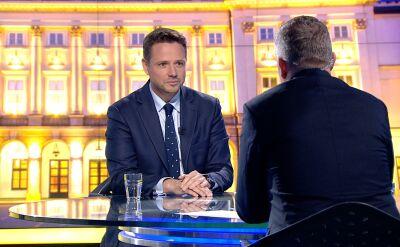Trzaskowski: ludzie z klasą, z przekonaniem, z wiarygodnością są polskiej polityce potrzebni