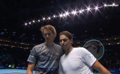 Zverev górą w starciu z Nadalem w ATP Finals