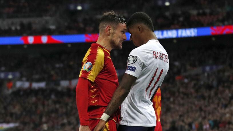Zgrzyt na Wembley. Piłkarz Legii starł się z gwiazdą Anglików