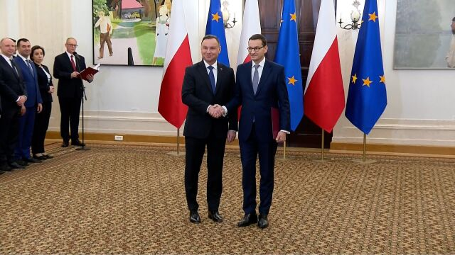 Morawiecki: dziękuję, że możemy kontynuować misję poprawy standardu życia Polaków