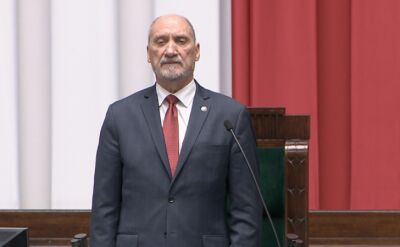 Antoni Macierewicz otworzył pierwsze posiedzenie Sejmu IX kadencji