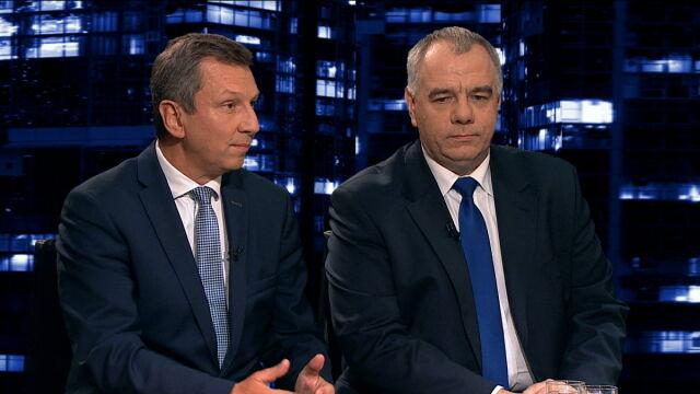 "Andrzej Halicki i Jacek Sasin w ""Kropce nad i"""