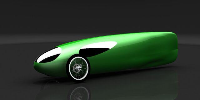 Na wizualizacjach pojazd ma zieloną karoserię, ale w rzeczywistości będzie ona czarna