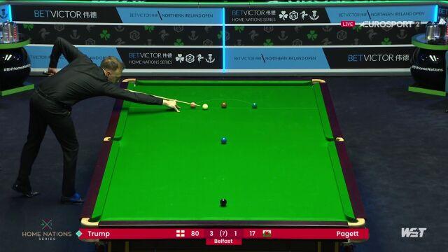 Judd Trump wygrał z Andrew Pagettem w kwalifikacjach do Northern Ireland Open