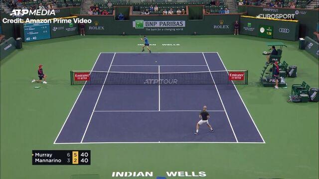 Murray awansował do 2. rundy Indian Wells