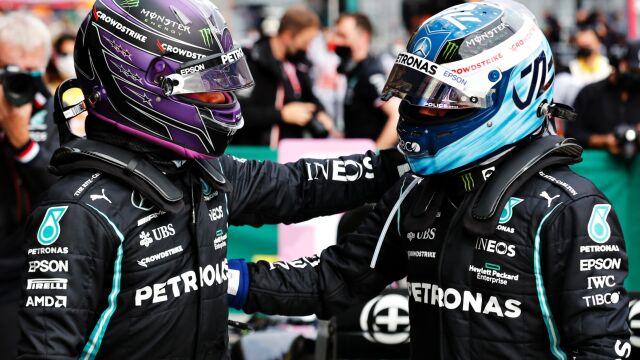 Mercedes zdominował kwalifikacje w Turcji