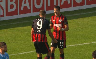 Skrót meczu TSV 1860 Monachium - Eintracht Frankfurt w 1. rundzie Pucharu Niemiec