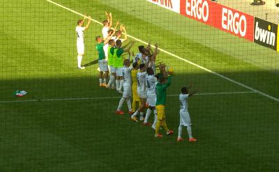 Skrót meczu Oberneuland - Borussia Moenchengladbach w 1. rundzie Pucharu Niemiec