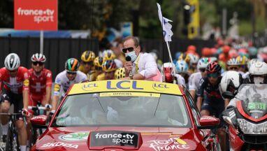 Dyrektor Tour de France po raz pierwszy od 15 lat musi oglądać wyścig w telewizji