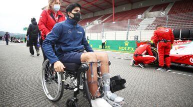Groziła mu amputacja nogi, przeszedł 25 operacji. Wraca do walki o fotel kierowcy F1