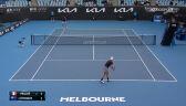 Skrót meczu Muller - Kyrgios w 1. rundzie Murray River Open