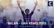 Triumf Degenkolba w Mediolan-San Remo w 2015 roku