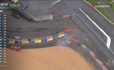 Pierwsza żółta flaga w wyścigu 24h Le Mans 2020