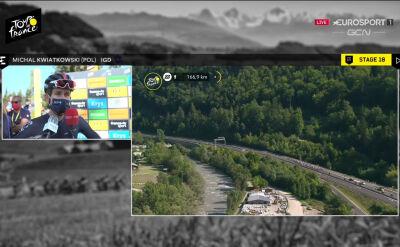 Kwiatkowski przed 18. etapem Tour de France