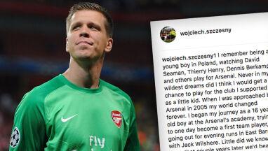Szczęsny z klasą pożegnał się z Arsenalem. I podziękował Wengerowi