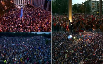 Kolejne protesty przeciw zmianom w sądownictwie