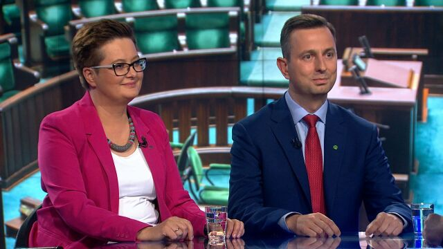 """Katarzyna Lubnauer i Władysław Kosiniak-Kamysz w """"Faktach po Faktach"""""""