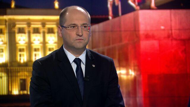 """Gościem """"Faktów po Faktach"""" w TVN24 był Adam Bielan"""