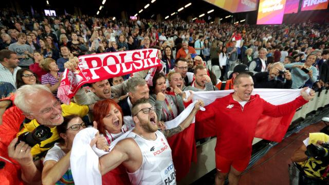 Polski młot pokazał moc. Fajdek obronił mistrzostwo, brąz dla Nowickiego