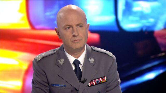 """Gościem """"Faktów po Faktach"""" był nadinspektor Jarosław Szymczyk"""