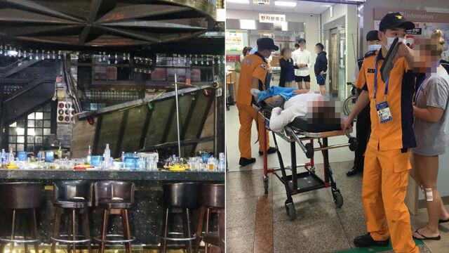 Tragiczny wypadek w nocnym klubie. Ucierpieli uczestnicy pływackich mistrzostw świata