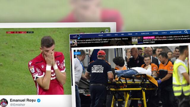 Dramat w czasie meczu rumuńskiej ekstraklasy. Trener doznał zawału serca