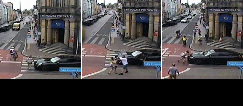 """Zatrzymał się na pasach, wysiadł z auta  i uderzył kobietę. """"Skandaliczne zachowanie"""""""