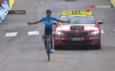 Quintana wygrał 18. etap Tour de France, Alaphilippe obronił żółtą koszulkę